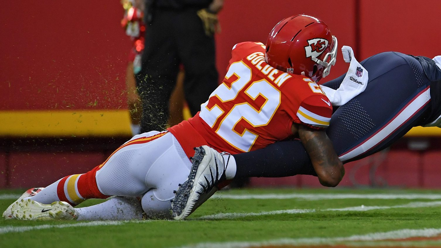 Safety Robert Golden says he's no longer with the Chiefs
