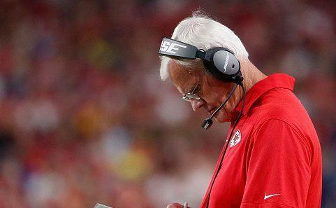 Chiefs defensive coordinator Bob Sutton's future uncertain