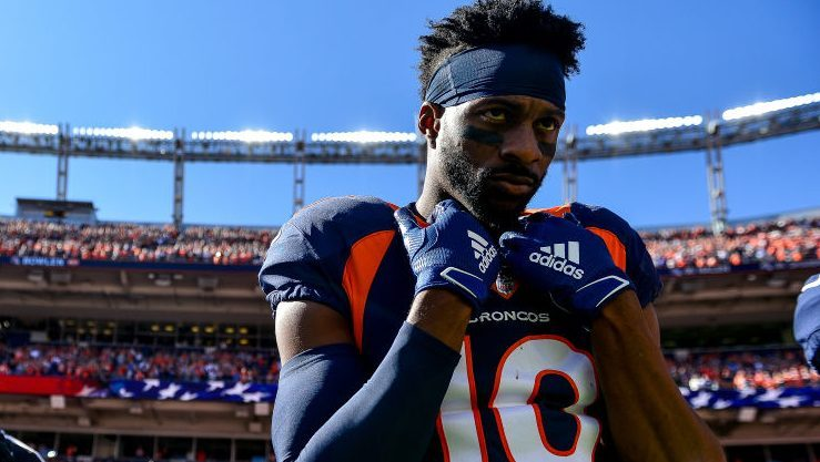 Broncos list Emmanuel Sanders as limited on Monday