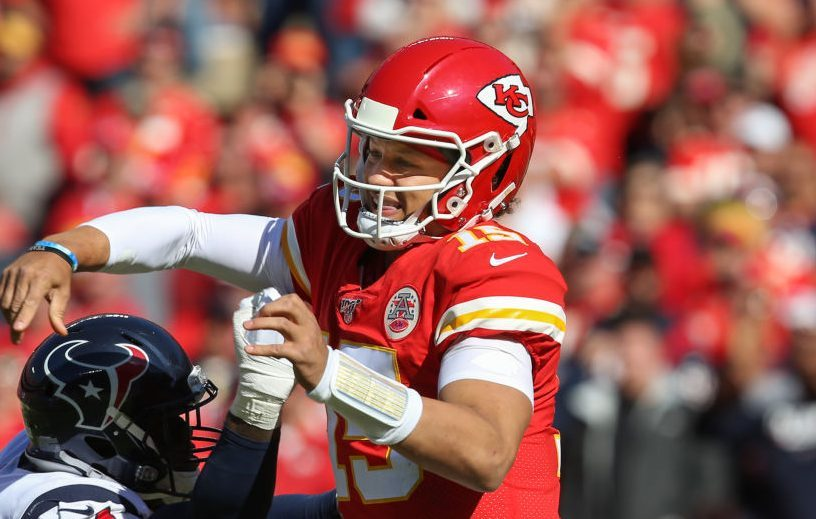 Chiefs list Patrick Mahomes as full practice participant